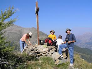 Photo: Ascension de l'aiguille d'Orcières, tiens ! un nouveau: le photographe