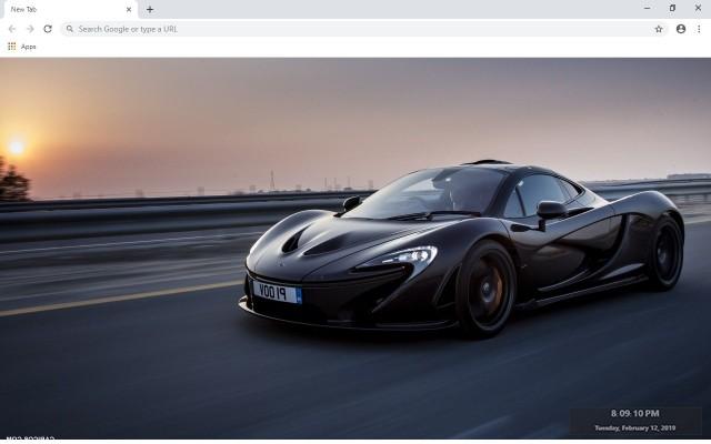 McLaren Full HD Custom New Tab