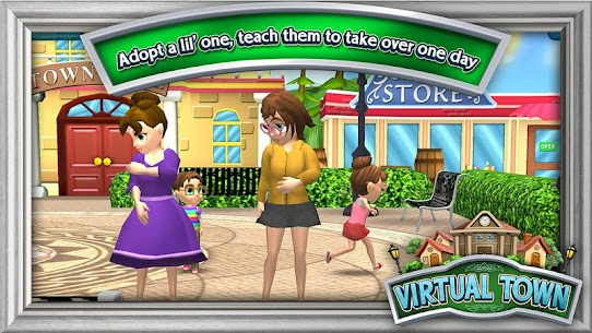 Virtual Town Mod 0.7.14 Apk [Unlimited Money] 1