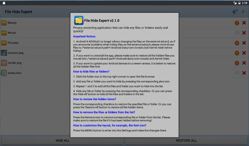 玩工具App|File Hide Expert - 文檔隱藏專家免費|APP試玩