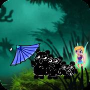 Fantasy 3 Pandas in Adventure Game