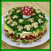 Вкусные салаты Mod