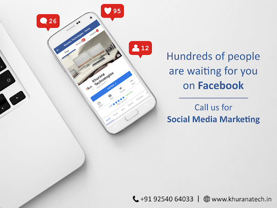 Hundreds of peopls are waiting for you on Facebook
