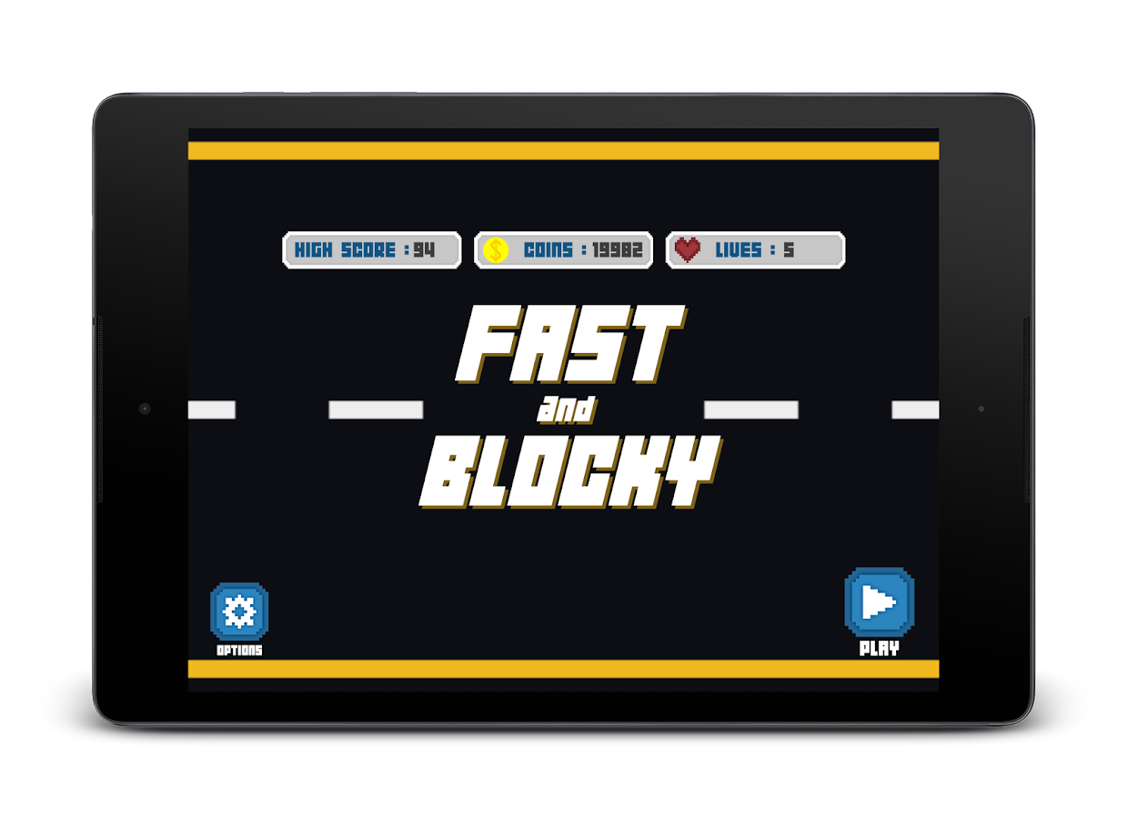 Fast and Blocky- screenshot