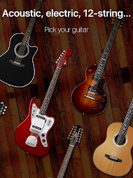 Guitar - play music games, pro tabs and chords! APK screenshot thumbnail 9