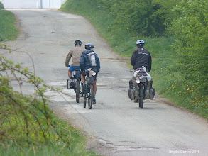 Photo: Les 1ers vélos sur le camino