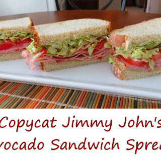 Copycat Jimmy John's Avocado Sandwich Spread.