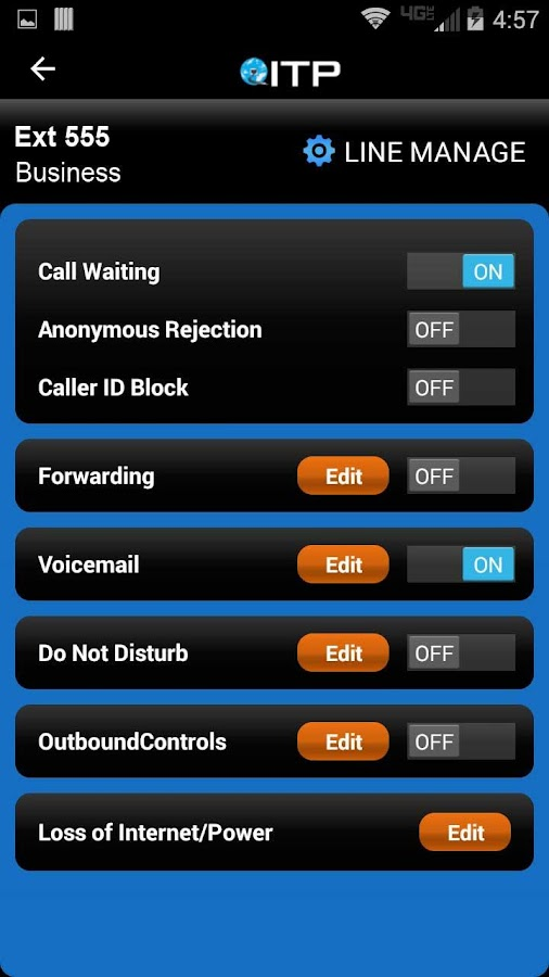 ITP  - Call, Chat and Manage- screenshot