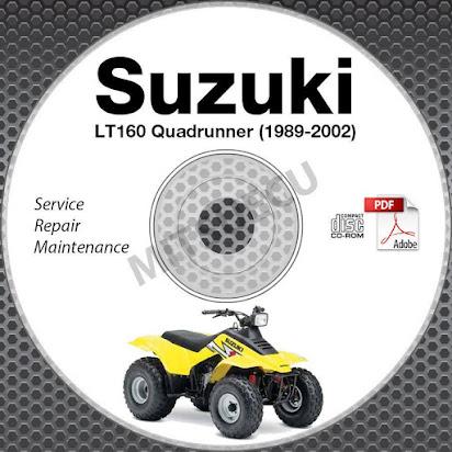 Suzuki lt 160 repair manual