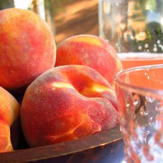 Peach Syrup.