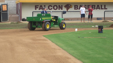 Photo: Using the gator to tire roll.