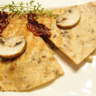 Mushroom, Thyme, Sun Dried Tomatoes wraps