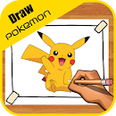 How to Draw Pokemon characters v 1.0 app icon