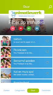 Activiteiten app- screenshot thumbnail