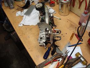 Photo: Ook Olijfje krijgt een afslank kuur. Dit is wel nodig, nu de motor wel degelijk harder trekt.
