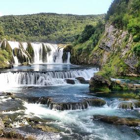 Strbacki buk waterfall, Bosnia and Herzegovina  by Boban Buliga - Landscapes Waterscapes ( #nature #naturelovers #natureonly #natureza #tagsforhearts #nature_seekers #nature_shooters #nature_perfection #natureporn #naturestyles_gf #naturephotography #nature_obsession #lifeinism #naturehippys #naturegram #nature_lovers #naturel #naturewalk #naturewhisperers #naturepolis #natureshot #natureshots #naturevalley #naturehub )