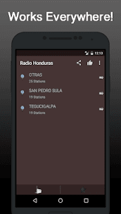 Radio Online Honduras - náhled