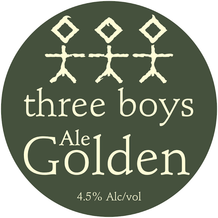 Logo of Three Boys Golden Ale