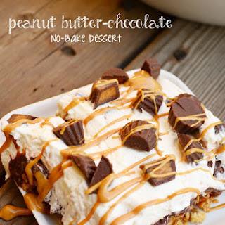Peanut Butter-Chocolate No-Bake Dessert