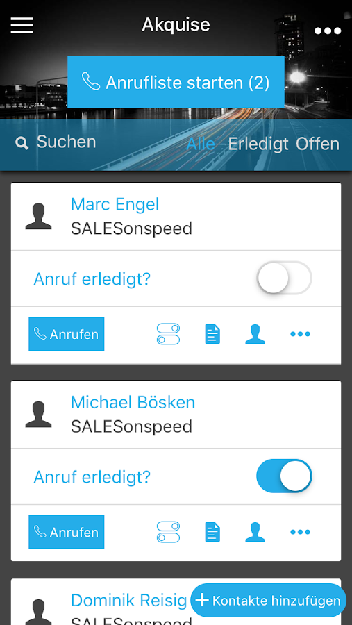SALES onspeed- screenshot