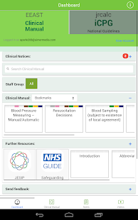 EEAS Clinical Manual- screenshot thumbnail
