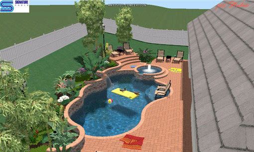 Photo: Pool Design Studio, Signature Pools, Orlando