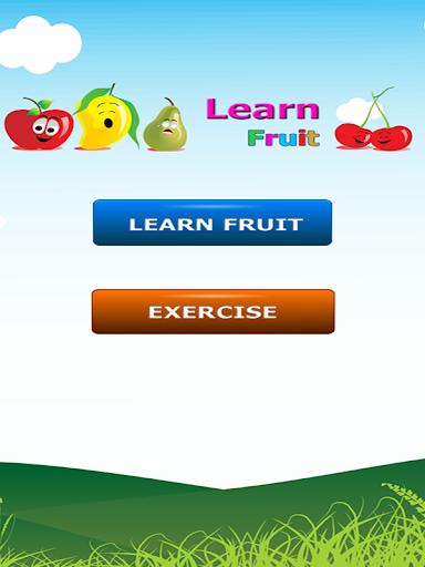 子供の学習フルーツクイズアプリ