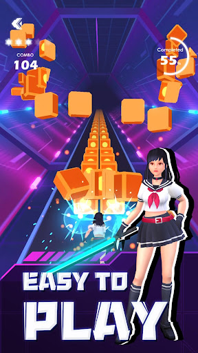 Beat Sword - Rhythm Game 1.0.1 screenshots 1