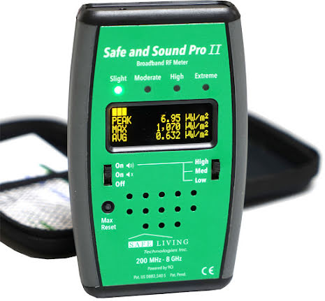 Safe & Sound Pro II - RF Meter