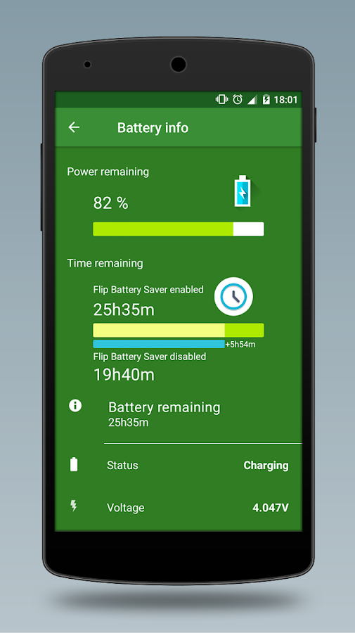 Flip Battery Saver (Power Up)- screenshot