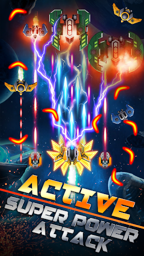 Galaxy War - Space Shooter, Phoenix Alien Shoot 1.6 screenshots 3
