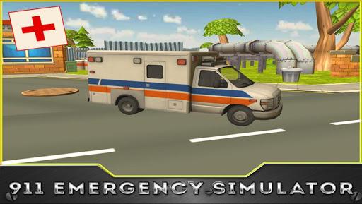 911救急車シミュレータ3D