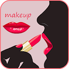 Ways to put make-up pictures icon