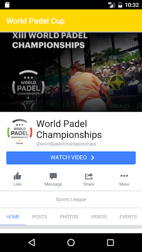 World Padel Championships  screenshots 2