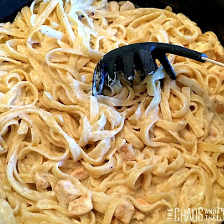 One Pot Cajun Chicken Alfredo