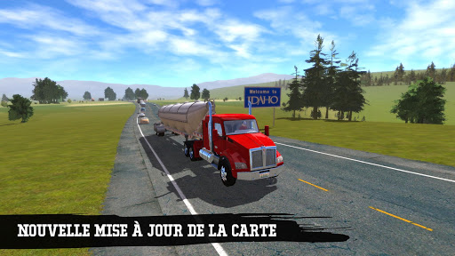 Truck Simulation 19  captures d'écran 1
