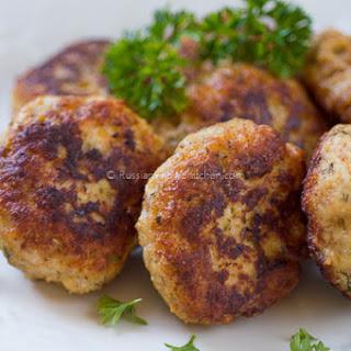 Chicken Kotleti (Russian-style Meatballs).