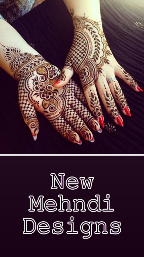 New Mehndi Designs- screenshot