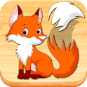 Funny Animal Puzzles for Kids, full game icon