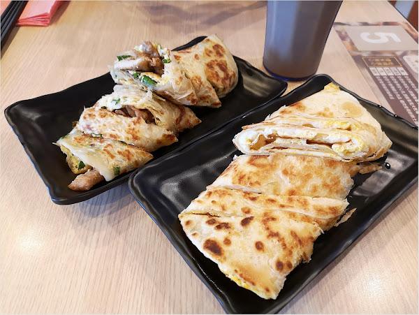 捷米早安主廚~大推超脆麻油脆蛋餅&九層塔燒肉捲餅,不能錯過的平價早餐店!