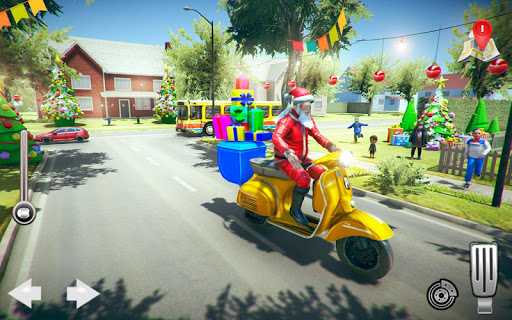 Foto do Santa Christmas Gift Delivery: Offroad Bike Riding