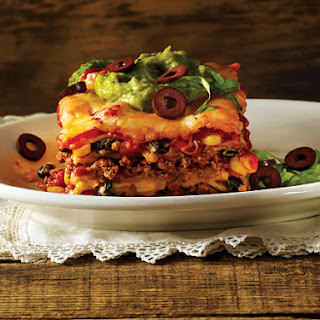 Lasagna Mexicana.