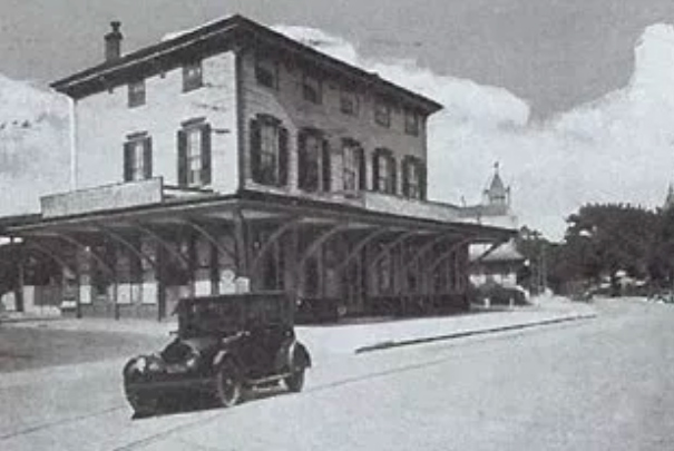 """""""Winter Station"""" was owned by the Reading Railroad."""