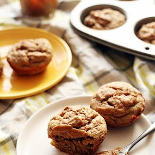 Healthy Banana Peanut Butter Muffins.