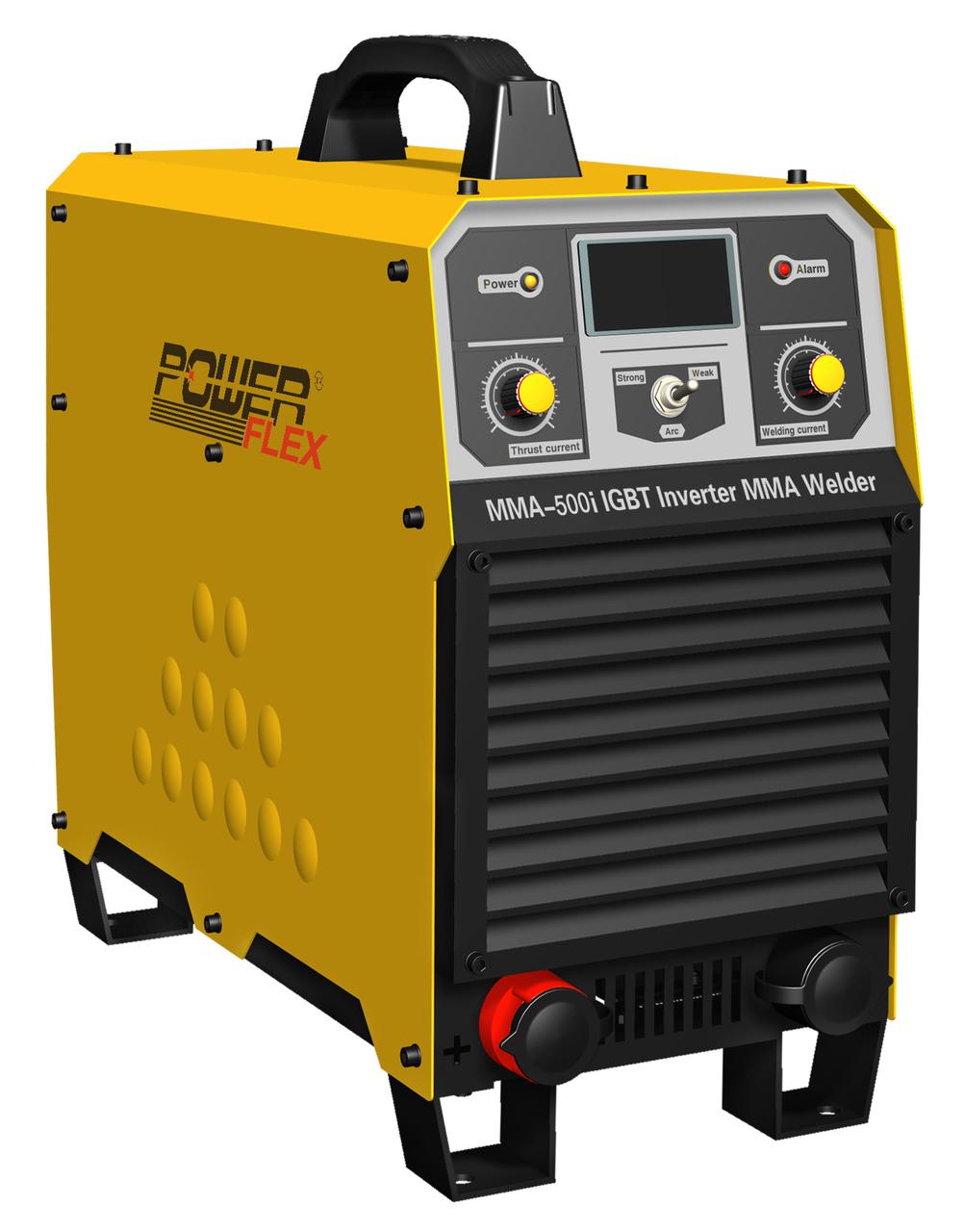 powerflex welding machine mma-500i 3 phase-electric-powered