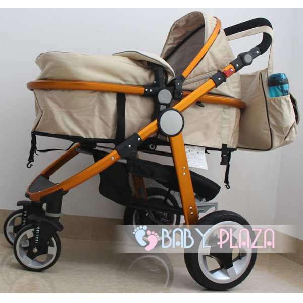 Xe đẩy Seebaby T18A (Bánh Cao Su)