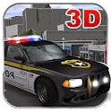 Crime City Police Driving Sim icon