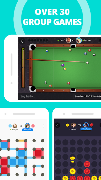 Plato - Games & Group Chats Android App Screenshot