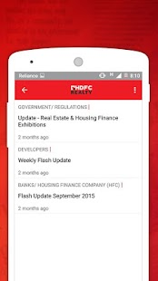 Market Watch by HDFC Realty- screenshot thumbnail