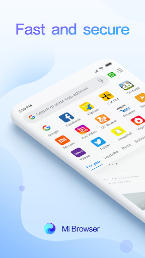 Mi Browser screenshot 1